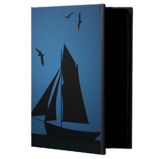 Caja del aire del iPad del azul de océano del
