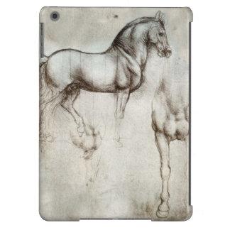 Caja del aire del iPad del caballo de da Vinci Funda Para iPad Air