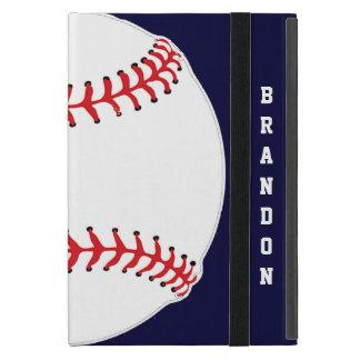 Caja del aire del iPad del diseño del béisbol iPad Mini Coberturas