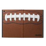Caja del aire del iPad del diseño del fútbol