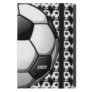 Caja del aire del iPad del diseño del fútbol iPad Mini Funda