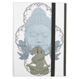 Caja del aire del ipad del dragón de Buda