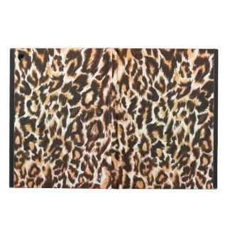 Caja del aire del iPad del estampado leopardo
