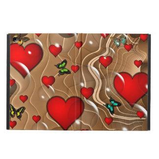 Caja del aire del iPad del extracto del amor de la