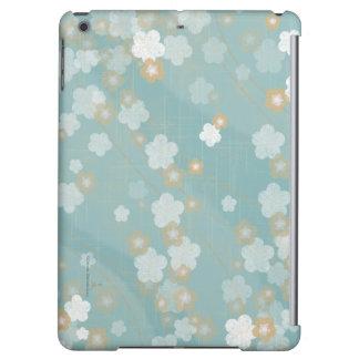 Caja del aire del iPad del flor del ciruelo