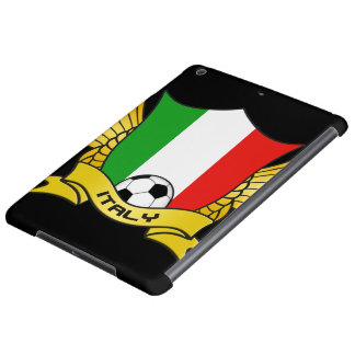 Caja del aire del iPad del fútbol de Italia