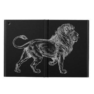 Caja del aire del iPad del león