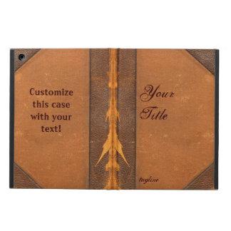 Caja del aire del iPad del libro del vintage