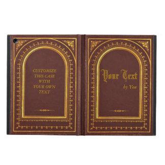 Caja del aire del iPad del libro viejo