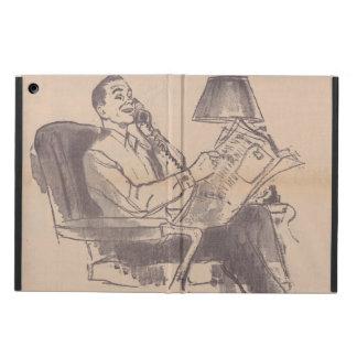 Caja del aire del iPad del papá del vintage