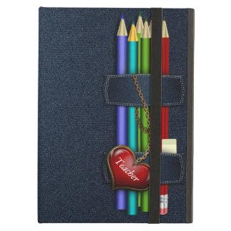 Caja del aire del iPad del profesor de la caja de