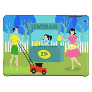 Caja del aire del iPad del puesto de limonadas de Funda Para iPad Air