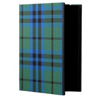 Caja del aire del iPad del tartán de Keith