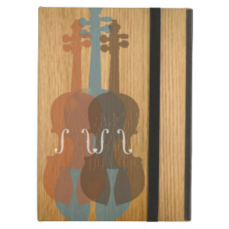 Caja del aire del iPad del violín