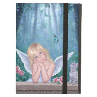 Caja del aire del iPad lindo del ángel y del