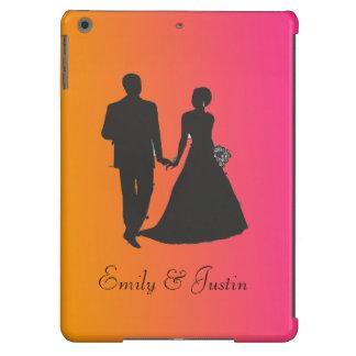 Caja del aire del iPad personalizado del novio y Funda Para iPad Air