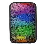caja del aire del macbook del brillo del arco iris funda para macbook air