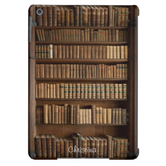 Caja del aire del viejo iPad de madera del estante Funda Para iPad Air