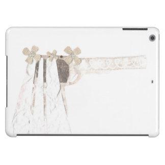 Caja del aire del Yo-Cojín de la novia del arma Funda Para iPad Air