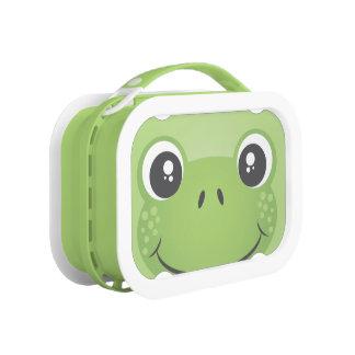 Caja del almuerzo adorable de Yubo de la rana