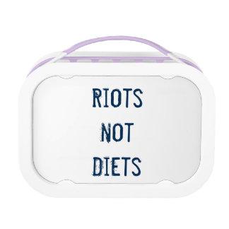 Caja del almuerzo de Feminista: Dietas de los