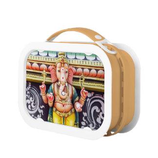 Caja del almuerzo de la estatua de dios de Ganesha