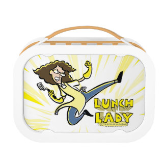 ¡Caja del almuerzo de la señora del almuerzo