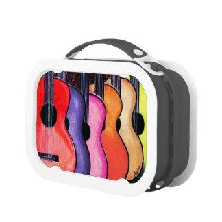 Caja del almuerzo de las guitarras