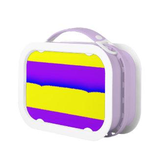 Caja del almuerzo de Yubo, púrpura