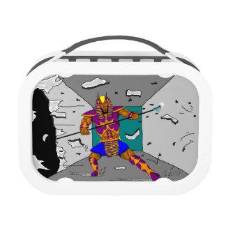 Caja del almuerzo del héroe de Anubis que se estre
