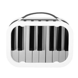 Caja del almuerzo del personalizado del teclado de