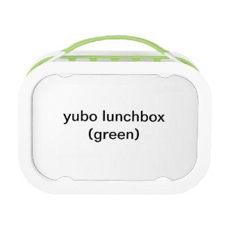 caja del almuerzo del yubo (verde)