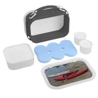 Caja del almuerzo Kayaking de la diversión