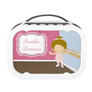 Caja del almuerzo personalizada bailarina dulce de
