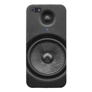 Caja del altavoz iPhone5 del monitor de estudio iPhone 5 Fundas