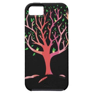 Caja del árbol de la primavera iPhone 5 protector