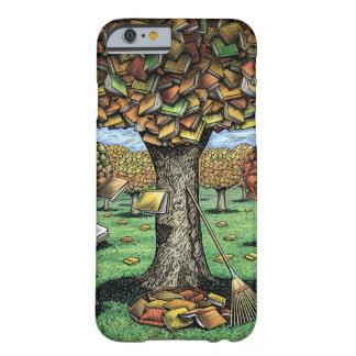 Caja del árbol del libro funda de iPhone 6 barely there