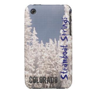 Caja del árbol del polvo de Steamboat Springs Carcasa Para iPhone 3