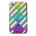 Caja del arco iris Case-Mate iPhone 3 funda