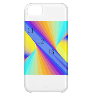 Caja del arco iris del torbellino funda para iPhone 5C