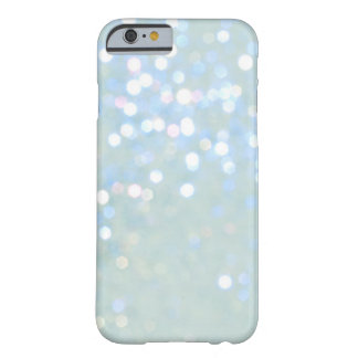 Caja del azul cielo blanca del brillo del iPhone 6 Funda De iPhone 6 Slim