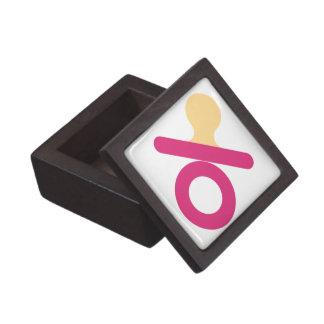 caja del bebé cajas de joyas de calidad