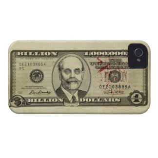 Caja del billete de banco de los mil millones del funda para iPhone 4