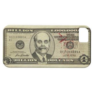 Caja del billete de banco de los mil millones del funda para iPhone SE/5/5s