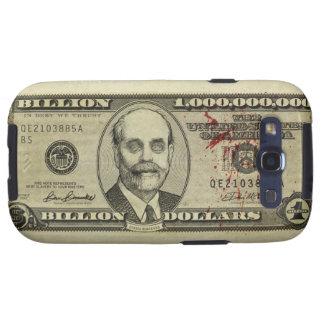 Caja del billete de banco del zombi de Federal Res Samsung Galaxy S3 Coberturas