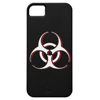 Caja del Biohazard iPhone4 - sangre de la ceniza iPhone 5 Case-Mate Protectores