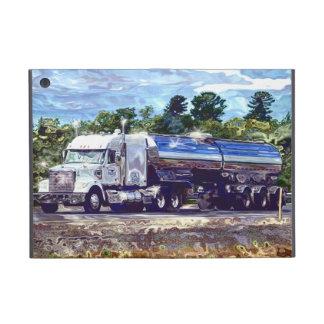 Caja del camión de petrolero de gasolina del condu iPad mini funda