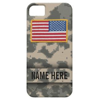 Caja del camuflaje de Digitaces del estilo del ejé iPhone 5 Cárcasa