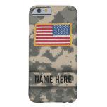 Caja del camuflaje del estilo del ejército funda de iPhone 6 barely there