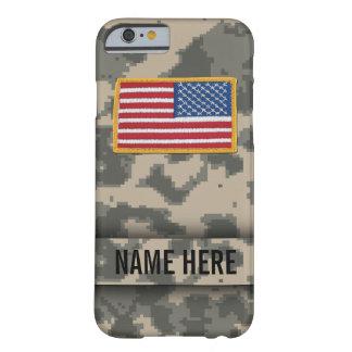 Caja del camuflaje del estilo del ejército funda para iPhone 6 barely there